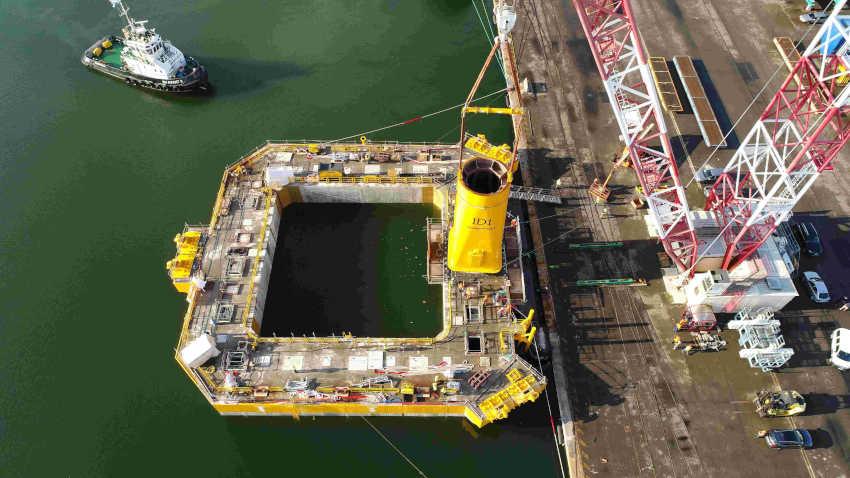 Floatgen - vue drone